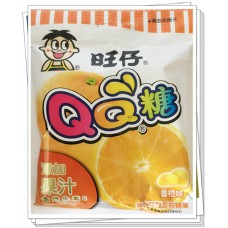 旺仔 QQ糖 香橙味
